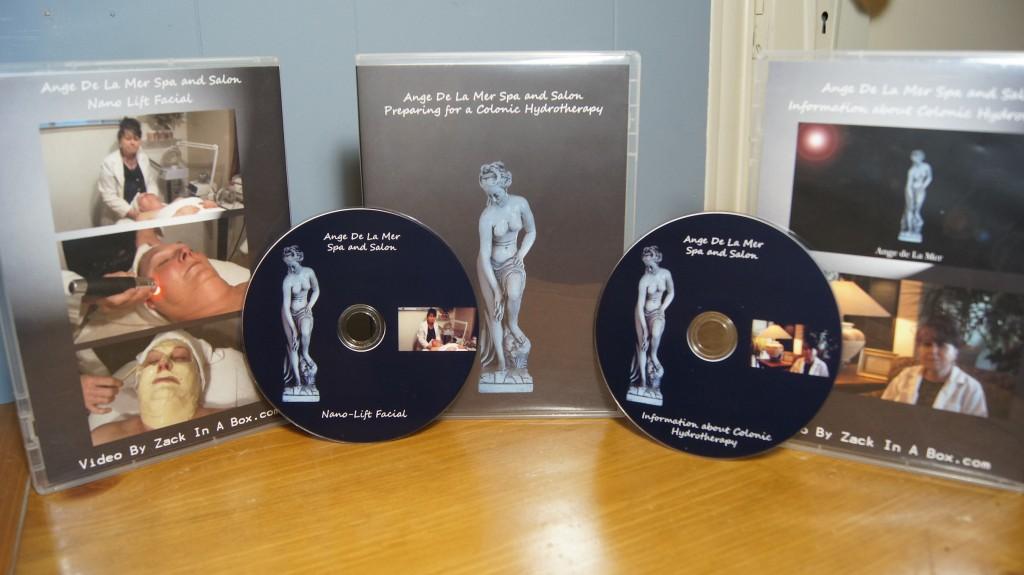 Ange De la Mer DVD Cases